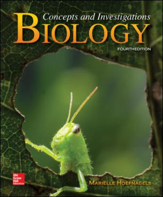 Test Bank for Biology: Concepts and Investigations, 4th Edition Hoefnagels