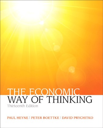 Test Bank for The Economic Way of Thinking, 13th Edition Heyne