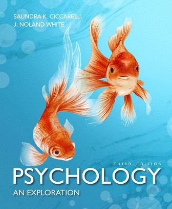 Test Bank for Psychology: An Exploration, 3rd Edition Ciccarelli