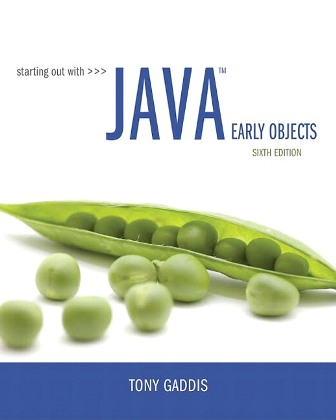 Test Bank for Starting Out with Java: Early Objects 6th Edition Gaddis