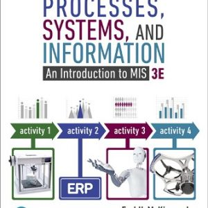 Test Bank for Processes, Systems, and Information: An Introduction to MIS 3rd Edition McKinney