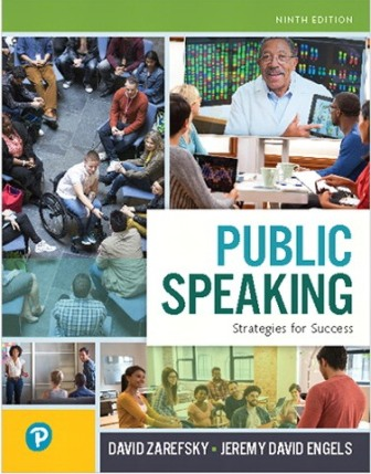 Solution Manual for Public Speaking: Strategies for Success 9th Edition Zarefsky