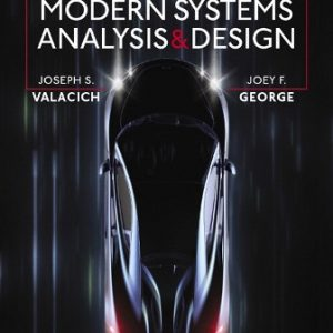 Solution Manual for Modern Systems Analysis and Design 9th Edition Valacich