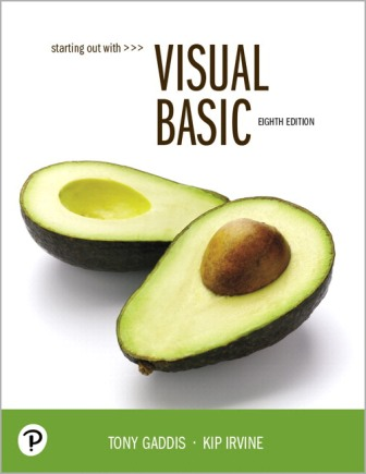 Solution Manual for Starting Out With Visual Basic 8th Edition Gaddis