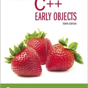 Solution Manual for Starting Out With C++: Early Objects 10th Edition Gaddis