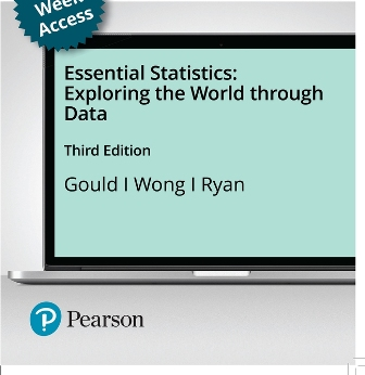 Test Bank for Essential Statistics 3rd Edition Gould