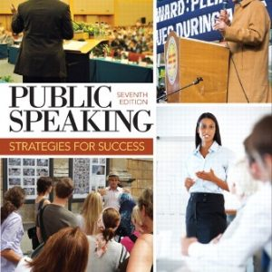 Solution Manual for Public Speaking: Strategies for Success 7th Edition Zarefsky