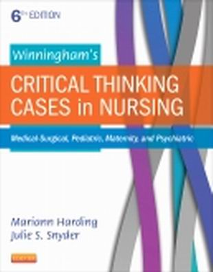 Solution Manual for Winningham's Critical Thinking Cases in Nursing 6th Edition Harding