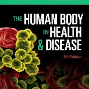 Test Bank for The Human Body in Health and Disease 7th Edition Patton