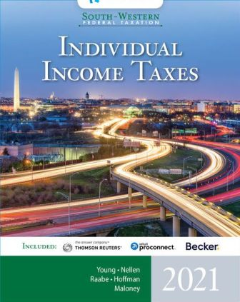 Solution Manual for South-Western Federal Taxation 2021: Individual Income Taxes 44th Edition Young