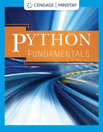 Solution Manual for Cengage's Python Fundamentals 1st Edition Cengage
