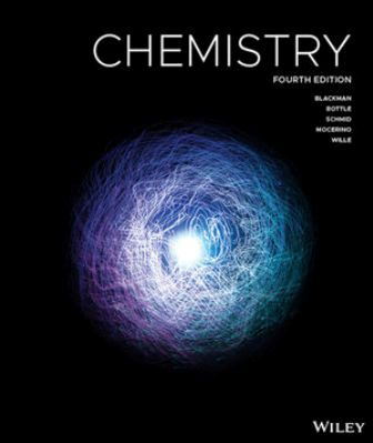 Solution Manual for Chemistry 4th Edition Blackman
