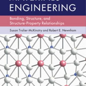 Solution Manual for Materials Engineering Bonding, Structure, and Structure-Property Relationships 1st Edition Trolier-McKinstry