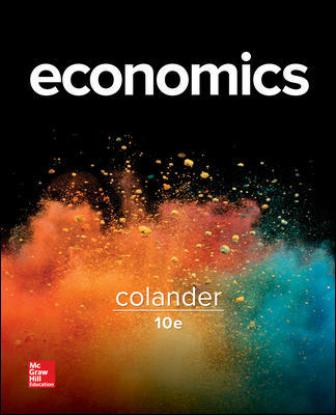 Solution Manual for Economics 10th Edition Colander