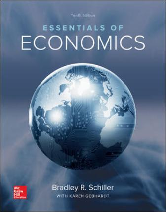 Solution Manual for Essentials of Economics, 10th Edition Schiller