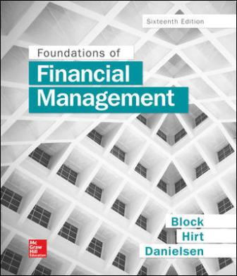 Solution Manual for Foundations of Financial Management, 16th Edition Block