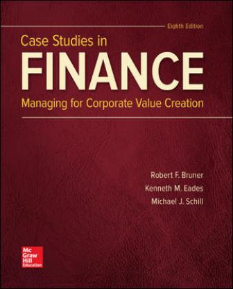 Solution Manual for Case Studies in Finance 8th Edition Bruner