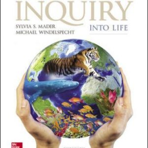 Test Bank for Inquiry into Life, 15th Edition Mader