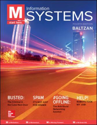 Test Bank for M: Information Systems, 4th Edition Baltzan