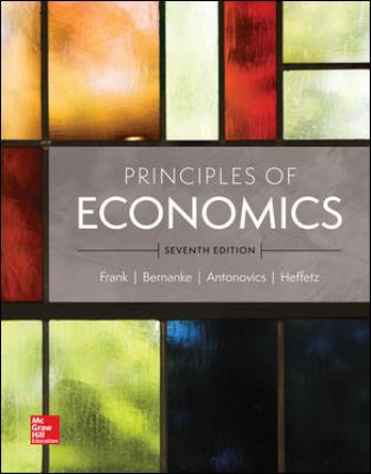 Test Bank for Principles of Economics 7th Edition Frank