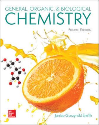 Test Bank for General Organic and Biological Chemistry 4th Edition Smith