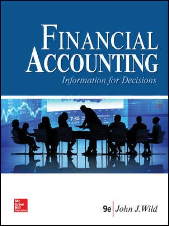 Test Bank for Financial Accounting: Information for Decisions, 9th Edition Wild