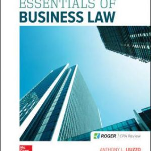 Solution Manual for Essentials of Business Law, 10th Edition Liuzzo