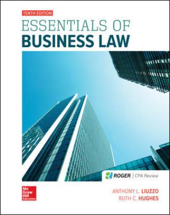 Test Bank for Essentials of Business Law 10th Edition Liuzzo