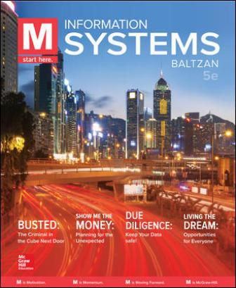 Test Bank for M: Information Systems, 5th Edition Baltzan