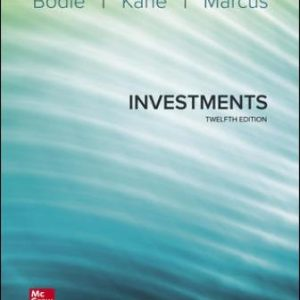 Solution Manual for Investments 12th Edition Bodie