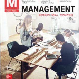 Solution Manual for M: Management, 6th Edition Bateman