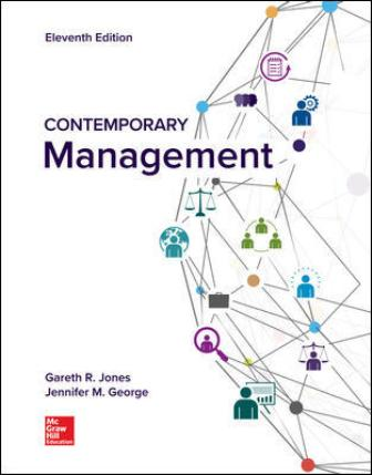 Solution Manual for Contemporary Management, 11th Edition Jones