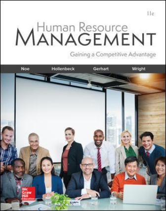 Test Bank for Human Resource Management, 11th Edition Noe