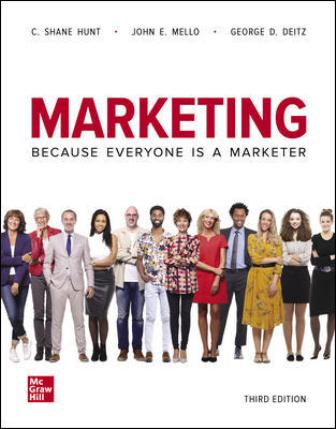 Test Bank for Marketing 3rd Edition Hunt