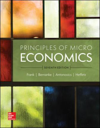 Test Bank for Principles of Microeconomics 7th Edition Frank