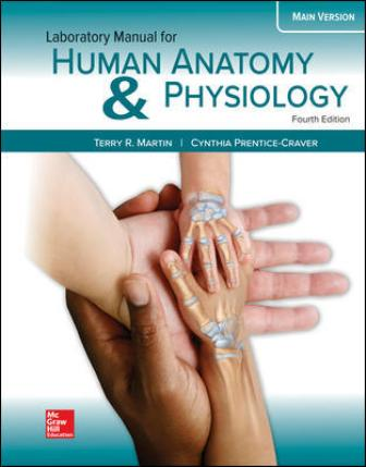 Solution Manual for Human Anatomy & Physiology Main Version, 4th Edition Martin