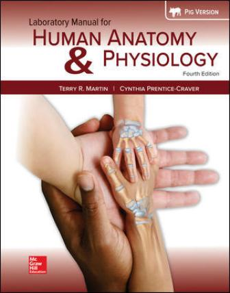 Test Bank for Human Anatomy & Physiology Fetal Pig Version, 4th Edition Martin