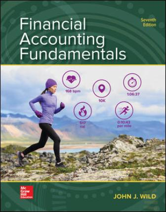 Test Bank for Financial Accounting Fundamentals, 7th Edition Wild