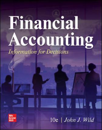 Test Bank for Financial Accounting: Information for Decisions 10th Edition Wild