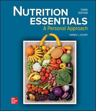 Test Bank for Nutrition Essentials: A Personal Approach, 3rd Edition Schiff
