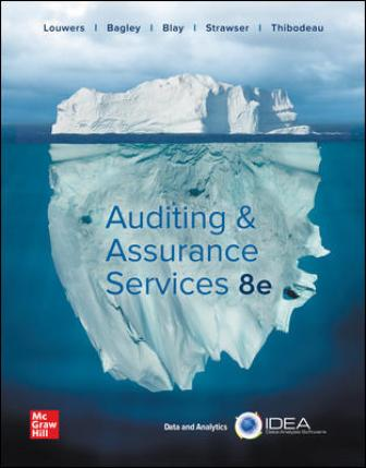 Test Bank for Auditing and Assurance Services 8th Edition Louwers