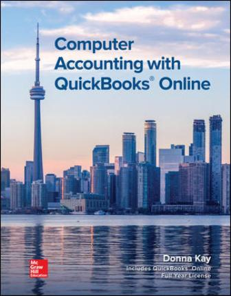Test Bank for Computer Accounting with QuickBooks Online 1st Edition Kay