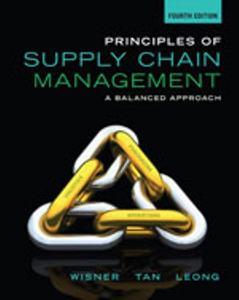 Test Bank for Principles of Supply Chain Management: A Balanced Approach 4th Edition Wisner