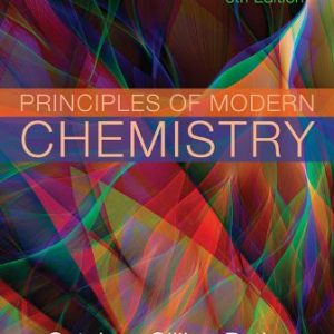 Solution Manual for Principles of Modern Chemistry 8th Edition Oxtoby