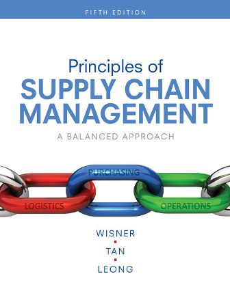 Test Bank for Principles of Supply Chain Management 5th Edition Wisner