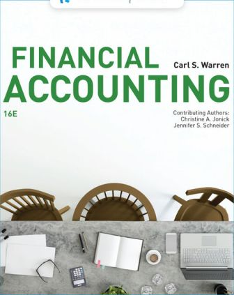 Solution Manual for Financial Accounting 16th Edition Warren
