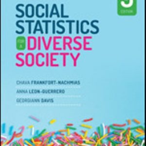 Test Bank for Social Statistics for a Diverse Society 9th Edition Frankfort-Nachmias