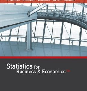 Solution Manual for Statistics for Business & Economics 13th Edition Anderson