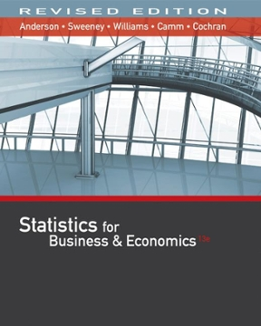Test Bank for Statistics for Business & Economics 13th Edition Anderson