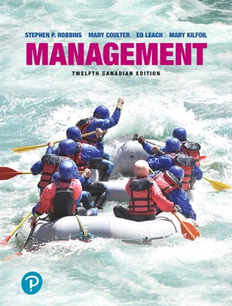 Solution Manual for Management 12th Canadian Edition Robbins
